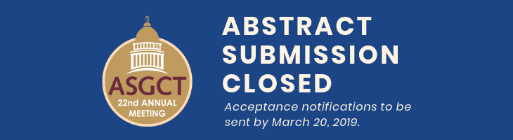 Abstract Submission Now Closed